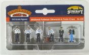Bachmann 36420 Midland Pullman Stewards & Train Crew